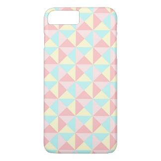 Retro Pastel Triangle Geometric iPhone 7 Case