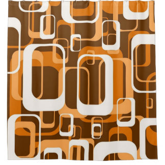 retro pattern 1971 orange
