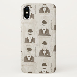Retro pattern for man iPhone x case