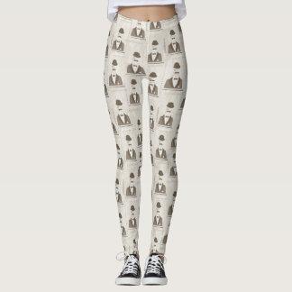 Retro pattern for man leggings
