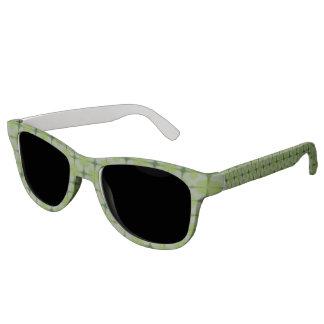 Retro pattern sunglasses