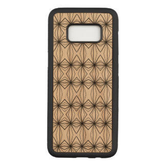 Retro Patterns Carved Samsung Galaxy S8 Case