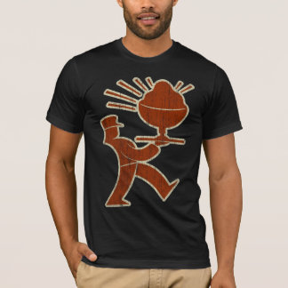 Retro PC Logo (vintage outlined) T-Shirt