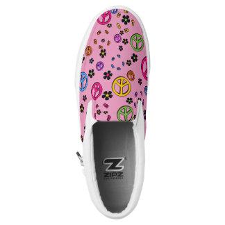 Retro PEace 2 Slip-On Sneakers