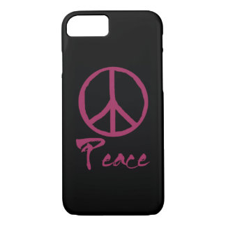 Retro Peace Sign iPhone 8/7 Case