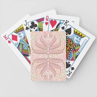 Retro Peach pattern Bicycle Playing Cards
