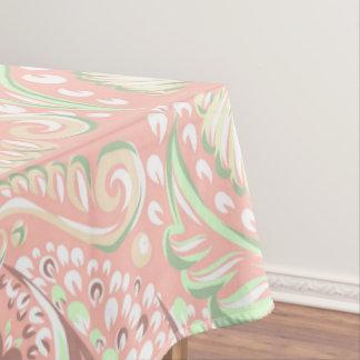 Retro Peach pattern Tablecloth