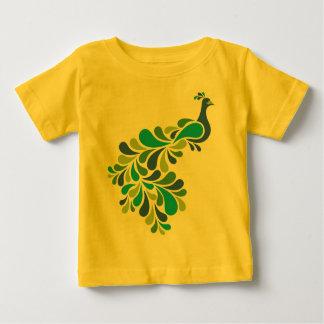Retro Peacock Baby T-Shirt