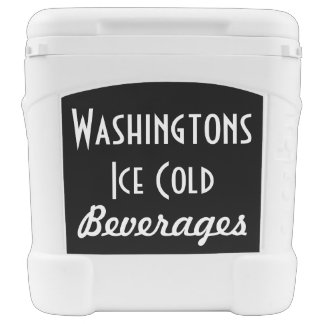 Retro Personalized Camping Tailgate Cooler Gift