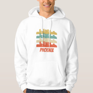 Retro Phoenix AZ Skyline Pop Art Hoodie