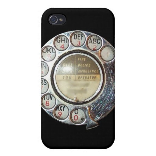 RETRO PHONE DIAL iPhone Case Covers For iPhone 4