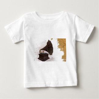 Retro phonograph player baby T-Shirt