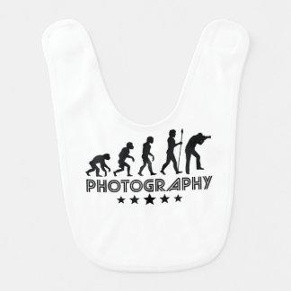 Retro Photography Evolution Bib
