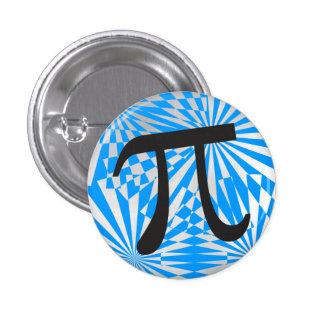 Retro Pi Symbol 1 Inch Round Button