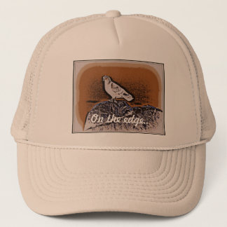 Retro Pigeon Trucker Hat