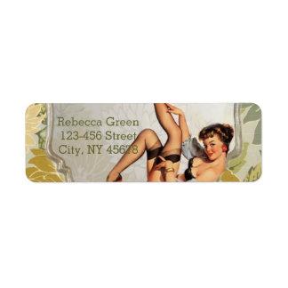 retro pin up girl vintage Bridal Shower Tea Party