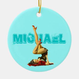 Retro Pin Up Pendant Ornament