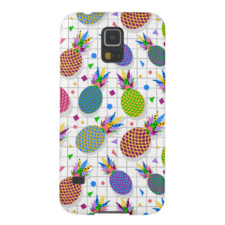 Retro Pineapple Pattern Case For Galaxy S5