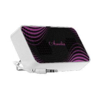Retro Pink Mini Speakers