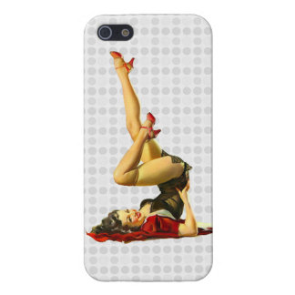 Retro Pinup Girl Case For The iPhone 5