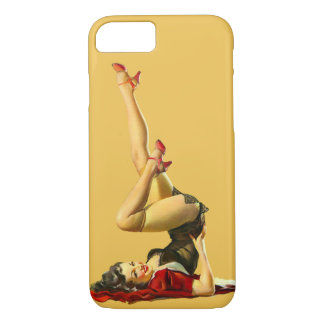 Retro Pinup Girl iPhone 8/7 Case