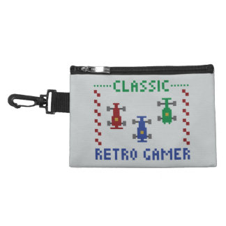 Retro Pixel Race Accessory Bags