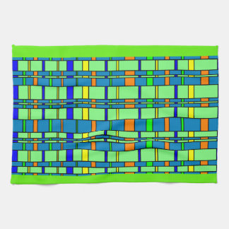 Retro Plaid Kitchen Towel