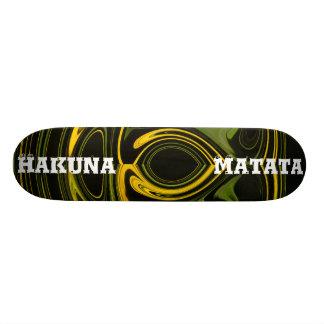Rétro planche à roulettes de coutume de garçons et skateboards