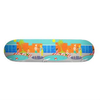 Rétro planche à roulettes de réception au bord de skateboard old school  21,6 cm