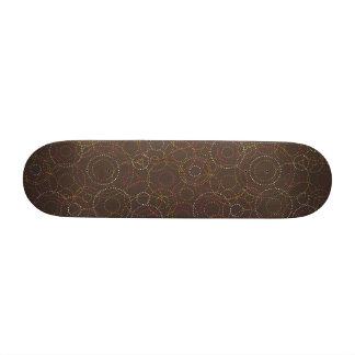 Rétro planche à roulettes fraîche de graphiques de planche à roulette customisée