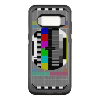 Retro PM5544 Television Test Pattern OtterBox Commuter Samsung Galaxy S8 Case