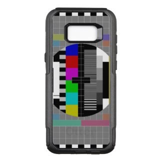 Retro PM5544 Television Test Pattern OtterBox Commuter Samsung Galaxy S8+ Case