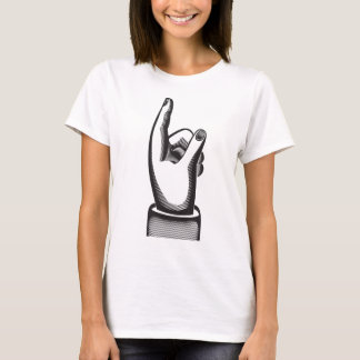 retro pointing index  finger T-Shirt