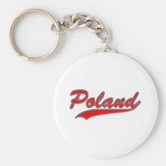 Retro Poland Keychain