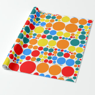 Retro Polka Dot Mosaic Pattern