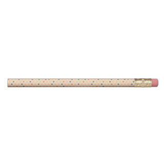 Retro Polka Dot Pencil