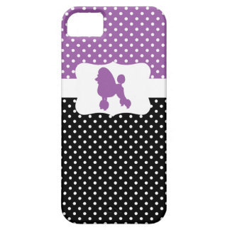 Retro Polka Dot w/Poodle iPhone 5 Case