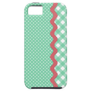 Retro Polka Dots and Checks iPhone 5 Cases
