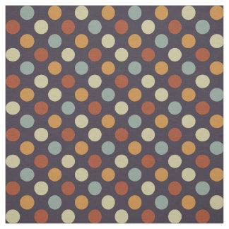 Retro Polka Dots Fabric