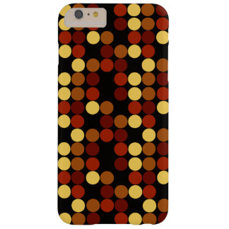 Retro Polka Dots Pattern Barely There iPhone 6 Plus Case