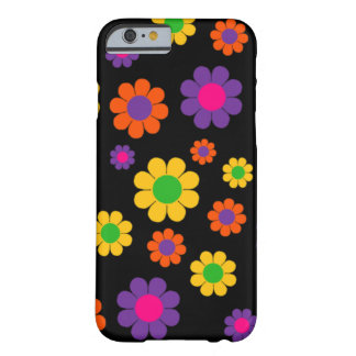 Retro Pop Flower Power Barely There iPhone 6 Case