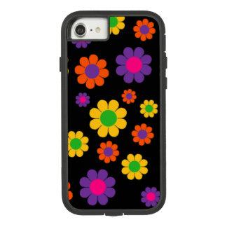 Retro Pop Flower Power Case-Mate Tough Extreme iPhone 8/7 Case