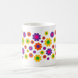 Retro Pop Flower Power Coffee Mug
