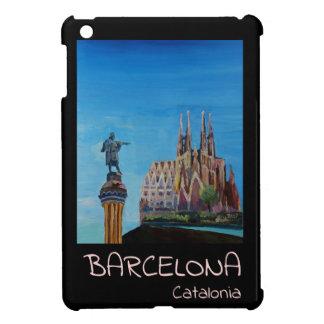 Retro Poster Barcelona Case For The iPad Mini