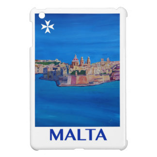RETRO POSTER Malta Valetta City of KnightsII iPad Mini Cover
