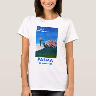 Retro Poster Palma De Mallorca T-Shirt