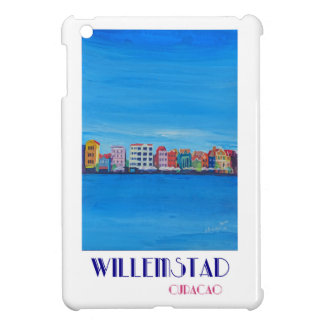 Retro Poster Willemstad Curacao Case For The iPad Mini