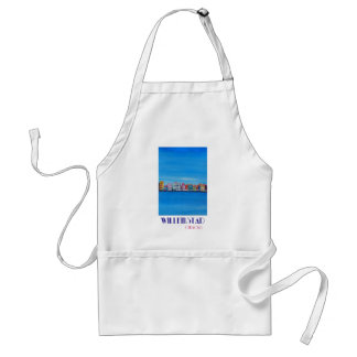Retro Poster Willemstad Curacao Standard Apron