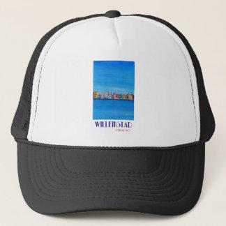 Retro Poster Willemstad Curacao Trucker Hat