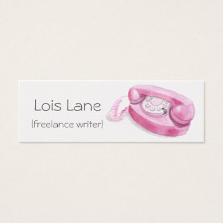 Retro Princess Telephone Skinny Card